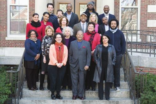 The W. E. B. Du Bois Fellows Program Fall 2012 Du Bois Institute Fellows Front row, from left: Abby Wolf, Celia Cussen, Marial Iglesias Utset, Henry Louis Gates, Jr.