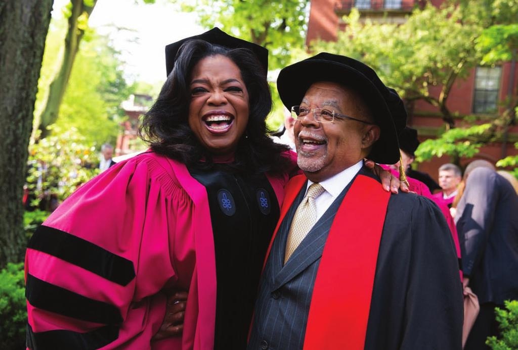 Oprah Winfrey and Henry Louis Gates, Jr.