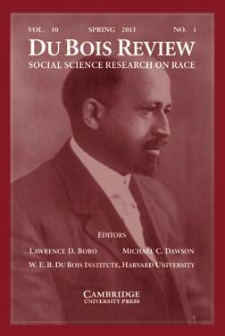 Publications Du Bois Review: Social Science Research on Race Editors: Lawrence D. Bobo and Michael C. Dawson Managing Editor: Sara Bruya http://dubois.fas.harvard.