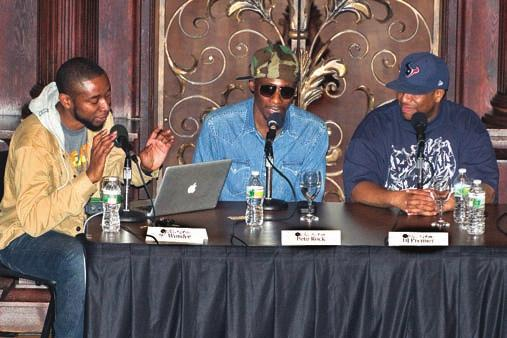 The 2012 2013 academic year also introduced Patrick Douthit (professionally known as 9th Wonder) and Tahir Hemphill as Hiphop Archive/Du Bois Institute Fellows.