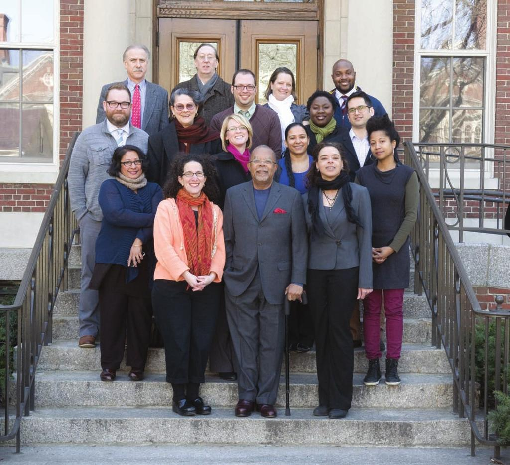 Staff Front row, from left: Krishna Lewis, Abby Wolf, Henry Louis Gates, Jr., Vera Ingrid Grant, Dell M. Hamilton. Middle row: Justin Sneyd, Karen C.