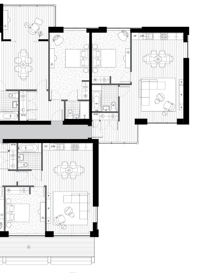05.03 1 bedroom 87 sq.m / 936 sq.ft 8860 mm x 6880 mm 5575 mm x 3310 mm 05. 1 bedroom 62.2 sq.m / 670 sq.