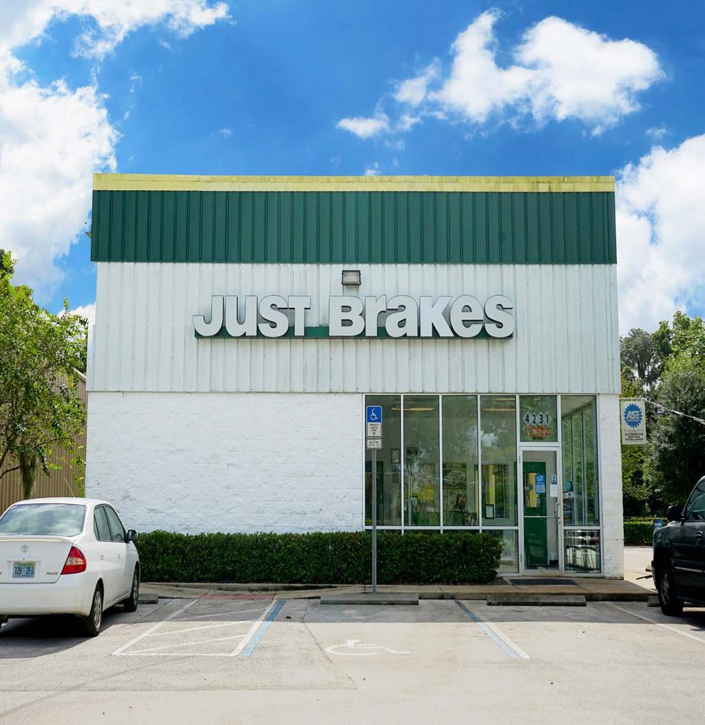 Subject Property SANFORD, FLORIDA Just Brakes in Strong Retail Area in