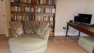 carpeted rooms The reading room with large selection of