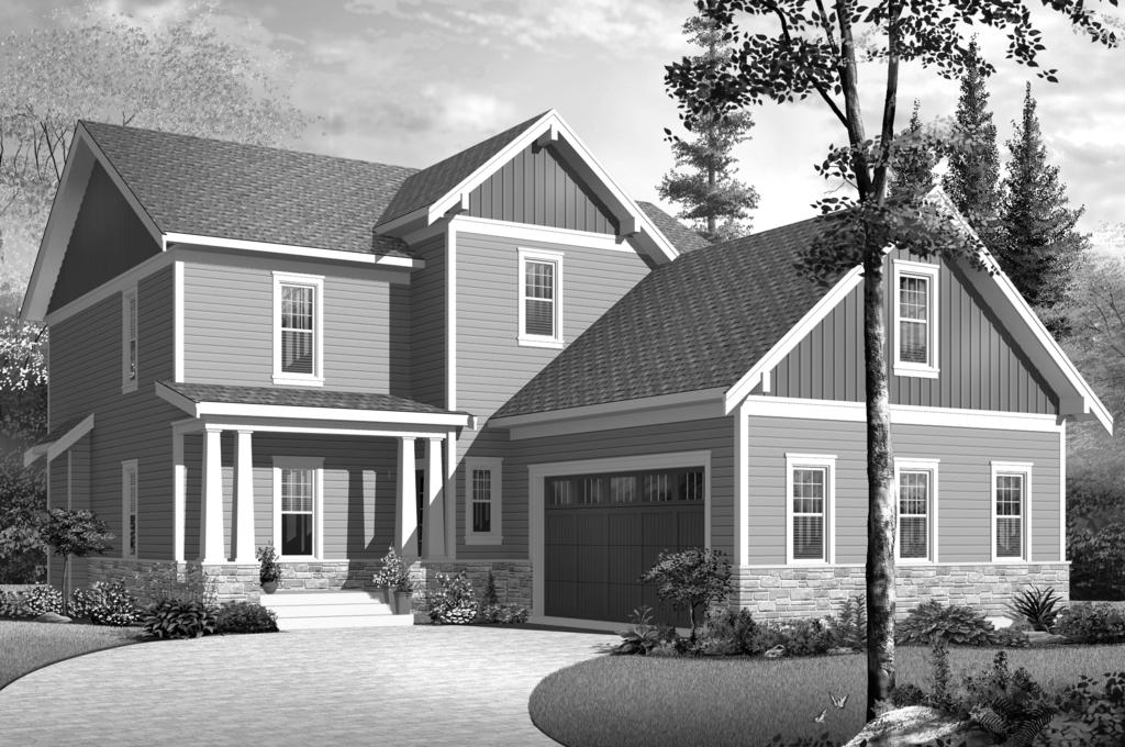 Plan No. SHSW2690 ALL THE RIGHT DETAILS : 1,259 sq. ft.