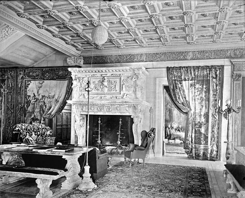 The Metropolitan Museum of Art, Gift of the children of Mrs. Harry Payne Whitney, 1942 (42.57.4.35) 12. Main stair hall of the William C. Whitney residence, 871 Fifth Avenue, New York, ca. 1900.