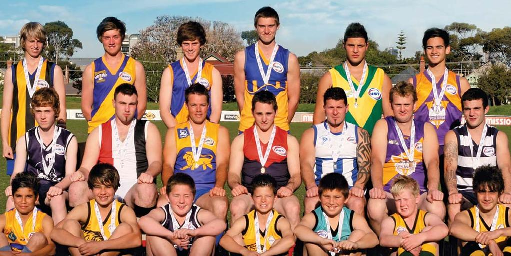 2010 Best & Fairest Winners DIVISION NAME CLUB VOTES Division 1 Seniors Timothy Jenkins St Albans 22 Division 1 Reserves Anthony Hodgetts Altona 15 Division 2 Seniors Luke Summers Deer Park 25