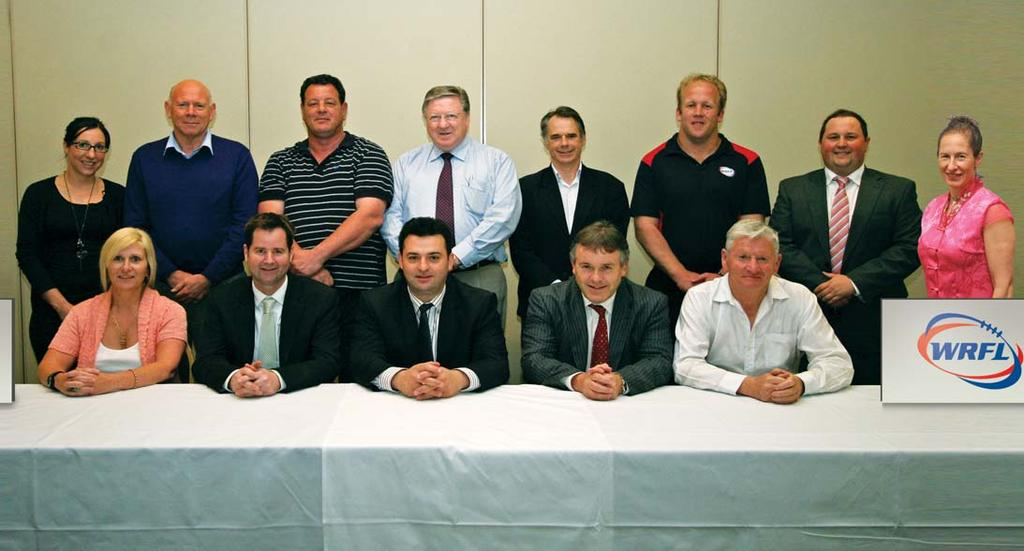 Our People WRFL EXECUTIVE BOARD President Bill Baarini Vice President John O`Callaghan Treasurer Dominic Drenen Directors: Bruce Mildenhall Janine Mizzi Terry McGarity Gina Smith Barry Lovell Michael