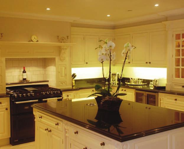 KITCHENS Classic kitchens with spacious elegant cupboards and luxurious appliances complete