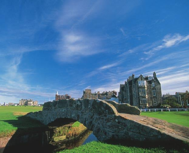 GOLF With 22 local courses, St Andrews is one of the world's finest golf destinations.