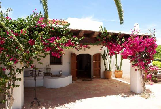 A beautifully reformed finca Can Curt is a beautifully reformed 6 bedroom finca on the exclusive southern coast of Ibiza.