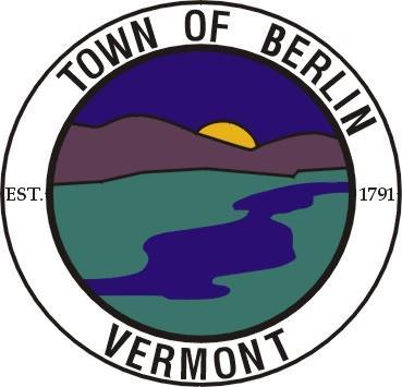 Town of Berlin, Vermont Zoning Regulations March 6, 1973 Revised August 1980 Revised March 1985 Revised March 1987 Revised March 1988 Revised