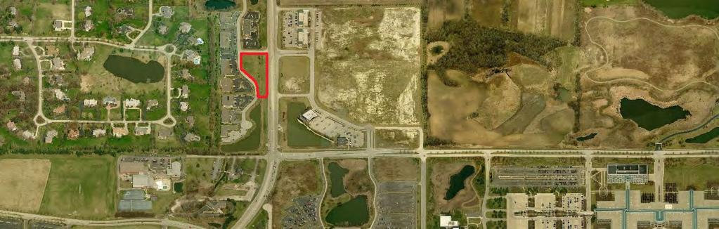 FOR SALE: Commercial Land / Build-to-Suit Opportunity 72,658 SF Land Parcel SOUTH BARRINGTON EXECUTIVE CENTER LOT 6 11 EXECUTIVE CT SOUTH BARRINGTON, IL 60010 South