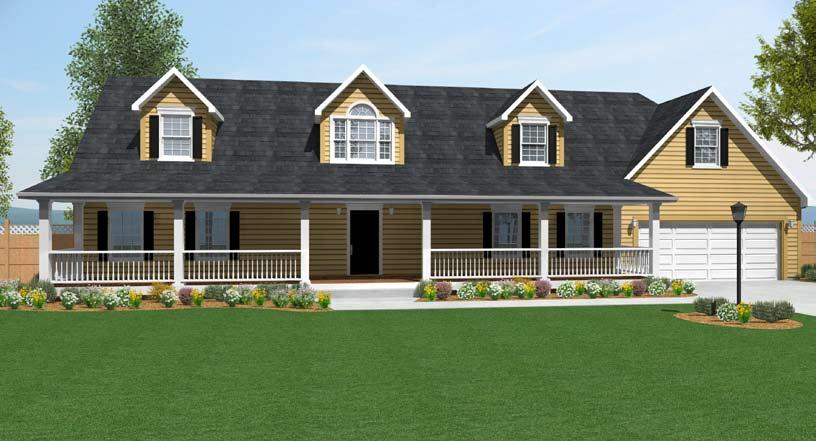 CAPE COD KIDEN Total Square Feet 2,367 (1,559 First Floor, 808 Second Floor) I s 3 I s 2.