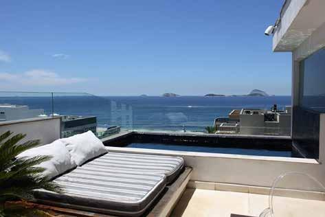 Rio055 4 Bedroom Penthouse in Leblon Modern design and stunning natural views make this 4 bedroom