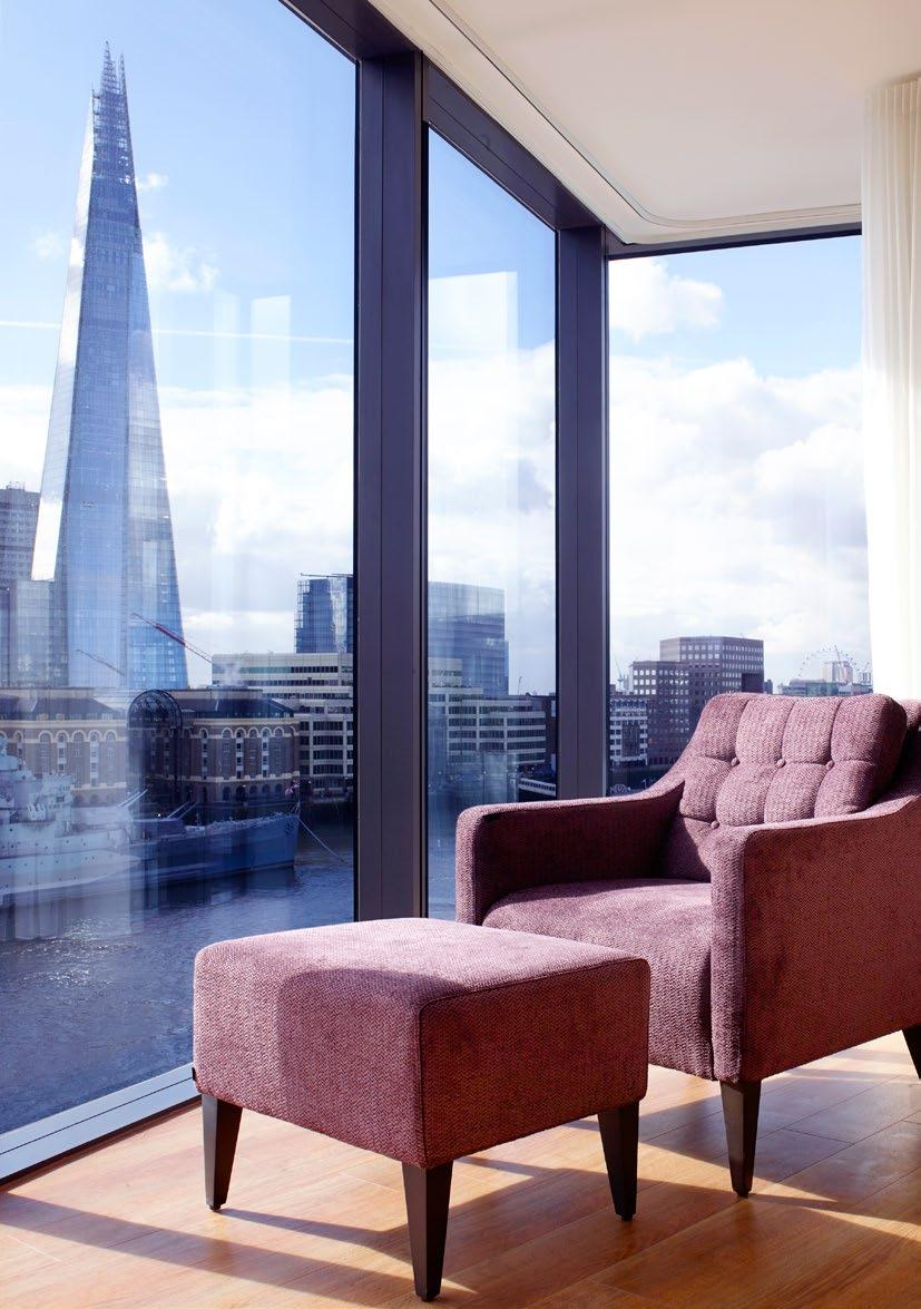 3 WELCOME Nestled between the contemporary culture and historic guise of the River Thames, Cheval Three Quays is an award winning destination in the heart of the city of London The location of this