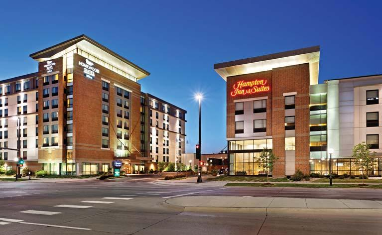 Southwest and Midwest, concentrating on premium select service hotels within the