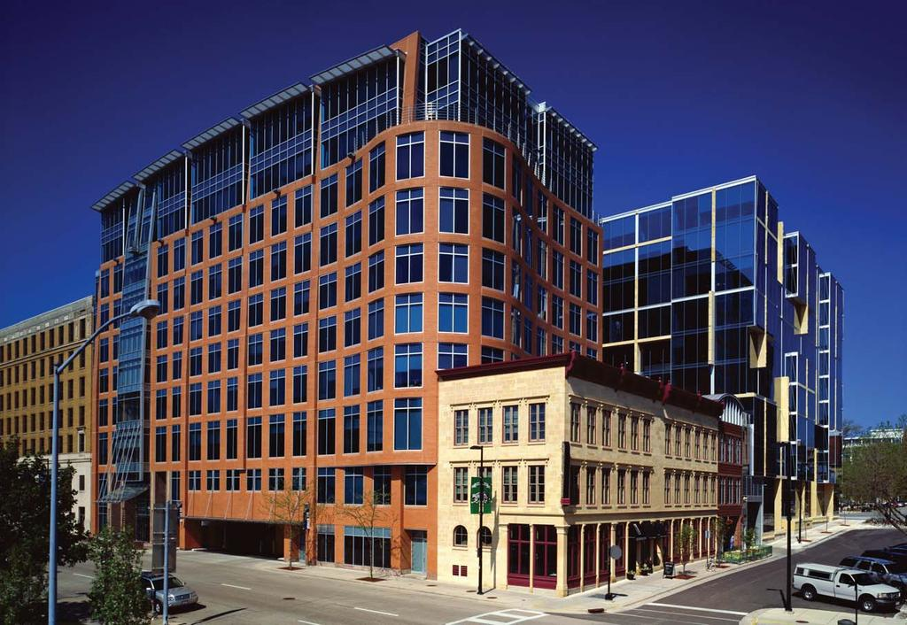 Block 89 MADISON, WISCONSIN - ULI & VDTA The redevelopment of this historic block, located opposite the State Capitol in downtown Madison, includes a combination of new construction and renovation,
