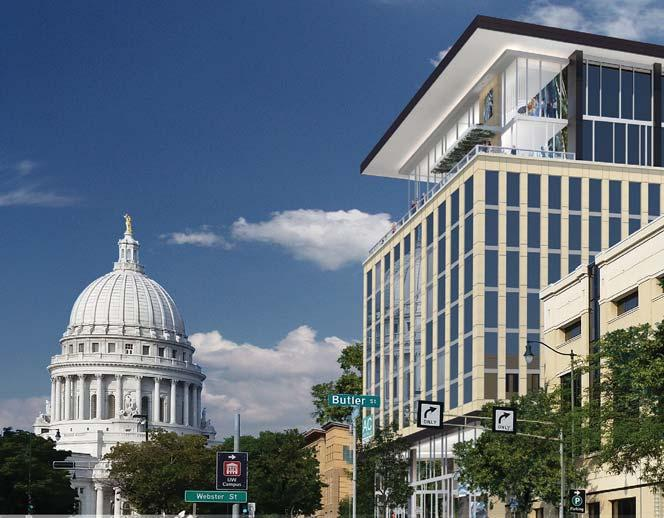 AC Hotel by Marriot MADISON, WISCONSIN - NCG North Central Group s AC Hotel by Marriott is located one block off the Capitol Square in the most vibrant redevelopment corridor in the City of Madison,