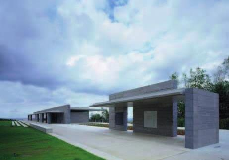 110 110 NORMANDY AMERICAN CEMETERY VISTOR CENTER Location:Normandy, France Architects: SmithGroup Associate Architects: