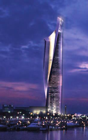 111 111 AL HAMRA FIRDOUS TOWER Location:Kuwait City, Kuwait Architects: