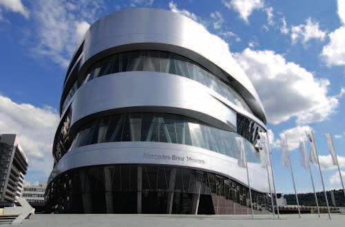 11 11 MERCEDES-BENZ MUSEUM Location: Stuttgart, Germany Architects:
