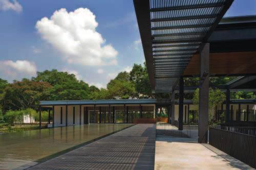 37 37 VISITOR CENTRE AT HORTPARK Location: Singapore, Singapore Architects: MKPL