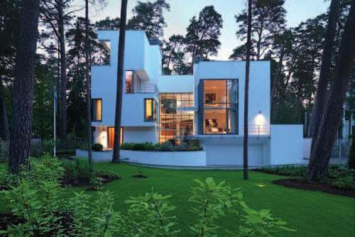 61 61 GUNA VILLA Location: Jurmala, Latvia Architects: gmp-von