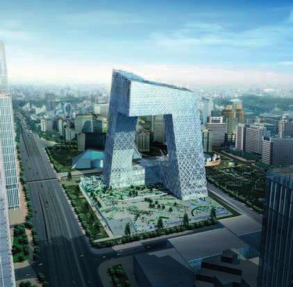 86 86 CCTV TELEVISION HEADQUARTERS Location: Beijing, People s Republic of China Architects: Office for Metropolitan