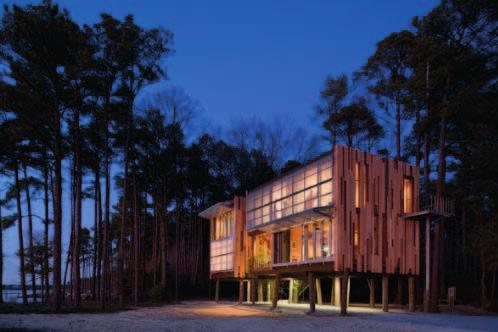 94 94 LOBLOLLY HOUSE Location: Taylors Island, Maryland, USA Architects: