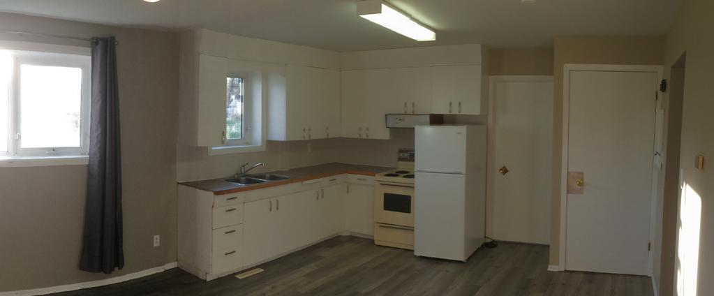Unit B Basement Suite with 2 Bedrooms, 1 bathroom, shared laundry Address: Unit B - 1422-109 th Street, North Battleford, SK