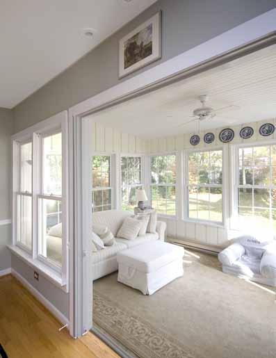 7 9 1 W a l d e n Sunroom Painted