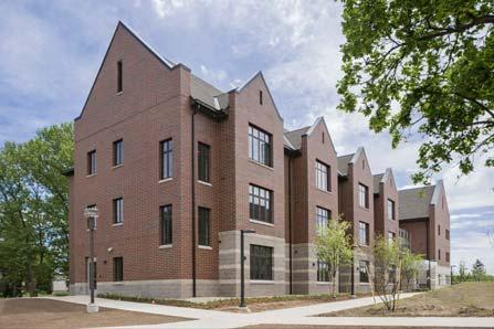Case 6: CMU Graduate Housing Central Michigan University LEED for Homes Platinum 3