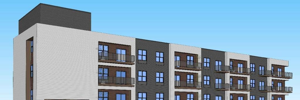 Estimated Costs: NC and Midrise 4 story 46 unit affordable housing in