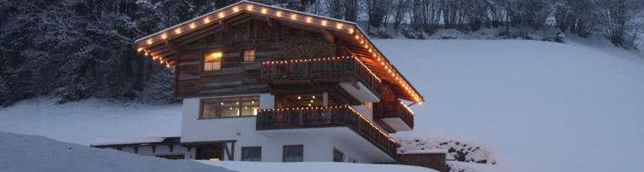 FACTS CHALET ZILL-1506 ZILLERTAL, AUSTRIA Sleeps: 6-7 Prices: upon request Bedrooms: 3 SERVICES Self-catered All linen and utilities Personal bathrobes & slippers Bath products Daily cleaning Private