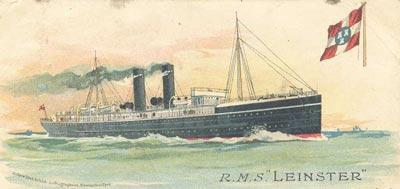 9 Claremen and Women who died on the RMS Leinster Shortly before 9.
