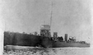 (UK Royal Naval Reserve Service Records Index, 1860-1955) On 4 April 1918, Bittern was involved in a collision with SS Kenilworth off the Isle of Portland in thick fog.