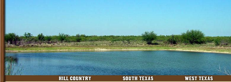 GATED SOUTH TEXAS HUNTING/RECREATION RANCH (Deer, Turkey, Birds, Fish, Hogs, Tanks, Character, Security & Privacy) 2,864.