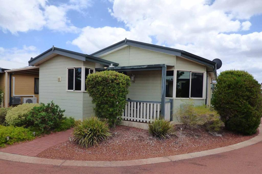Beechina $290,000 HVH035 2 1 1 0 This delightful Beechina 2 bedroom designed home within an easy stroll to the Clubhouse on a corner with the front facing south.