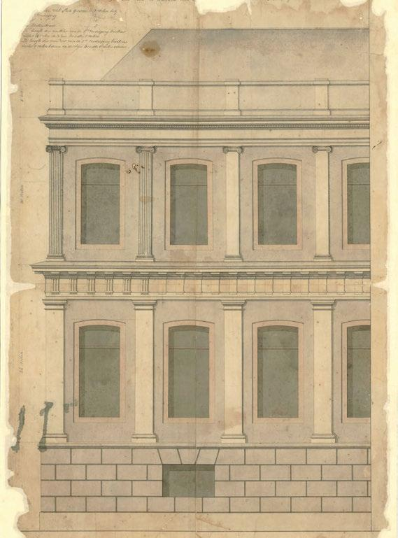 40 Illustration 5: Original drawings for the Ministry of Finance Heritage