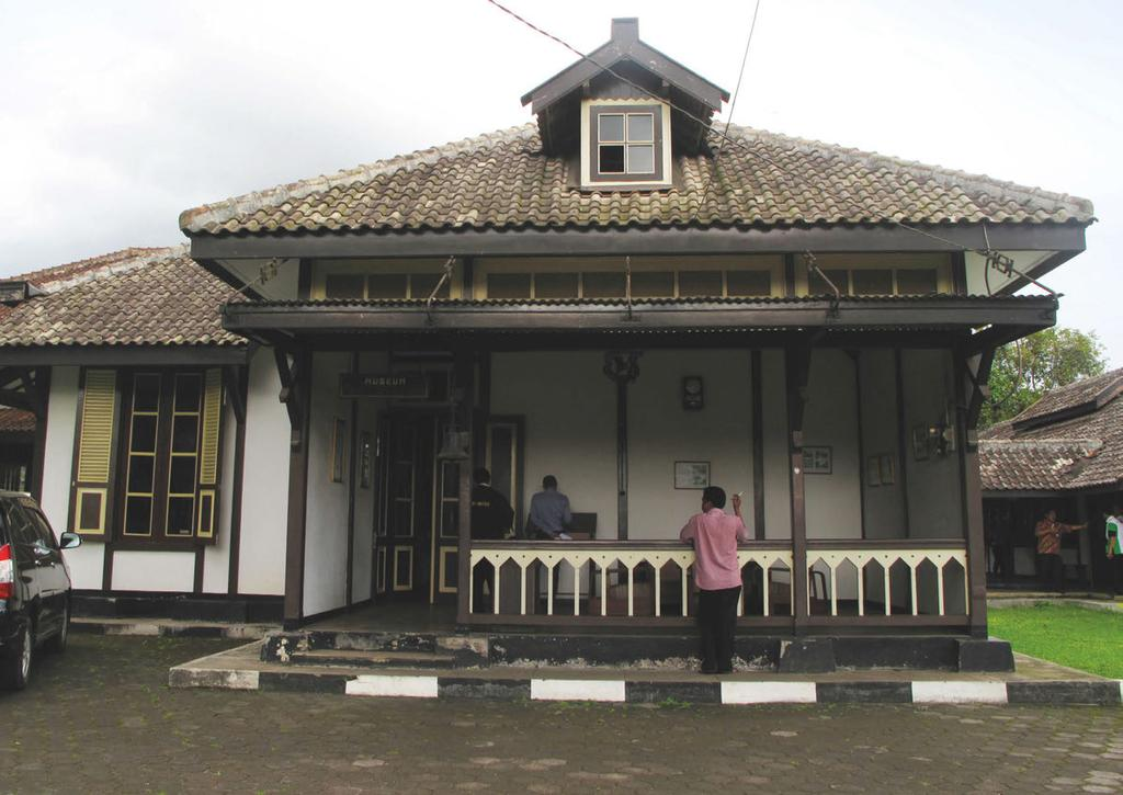 Illustration 7: The former Pawnshop residence in Sukabumi is currently being used as a