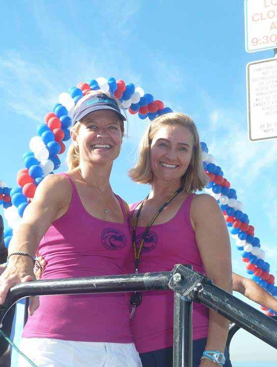 10 The Beach Reporter October 9, 2014 Congratulations Race Finishers Race Director Rachel Judson and Registration Director Annmarie Hext celebrate another successful race.