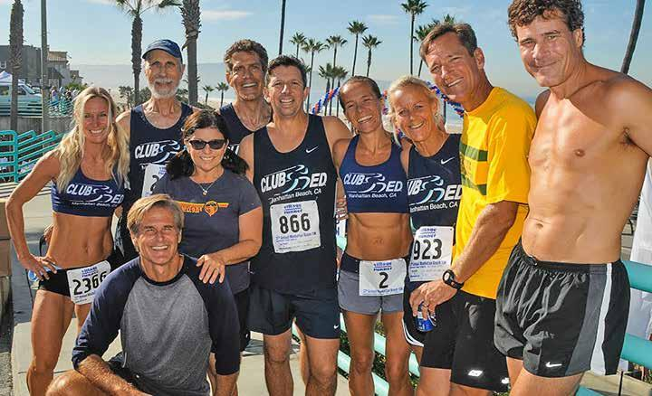 The Beach Reporter October 9, 2014 9 Celebrating 37 Years of the M.B. 10K Elite runners from Club ED, Manhattan Beach had a strong showing.
