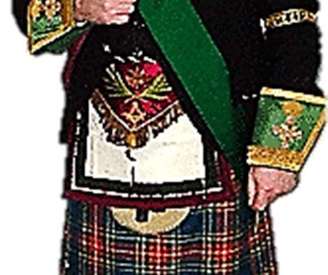 THE ROYAL ORDER OF SCOTLAND R.W. Provincial Grand Master Bro. John Knox W.