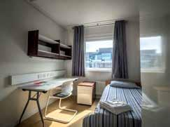 uk Bankside House offers en-suite single, twin, triple and quad rooms and a selection of single rooms with