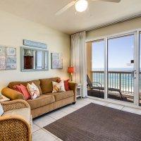 of the top condos at Panama City Beach Description This 3 bedroom, 2 bath oceanfront condo is located on the 4th Floor