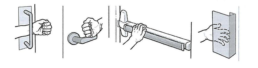 Two Doors in a Series Door Hardware Ramps shall comply with ICC/ANSI A117.1 Section 405. Elevators within the unit shall comply with ICC/ANSI A117.1 Sections 407, 408, or 409.