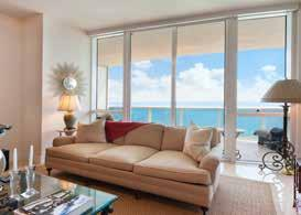 Sunny Isles condominiums 134 183 FEATURED PROPERTY # of sales 92 50 46% Average Price $1,453,864 $1,601,740 10% 15811 COLLINS AVE, SUNNY ISLES, FL