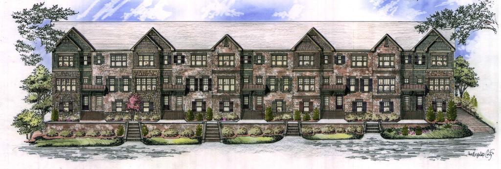 Chastain Preserve Private Enclave of City Townhomes Starting From the High $400 s Located across the street from Blue Heron Nature Preserve and walking distance to Chastain Park!