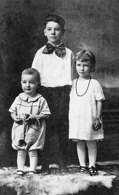 Left: children of Matt and Corine O Connor.
